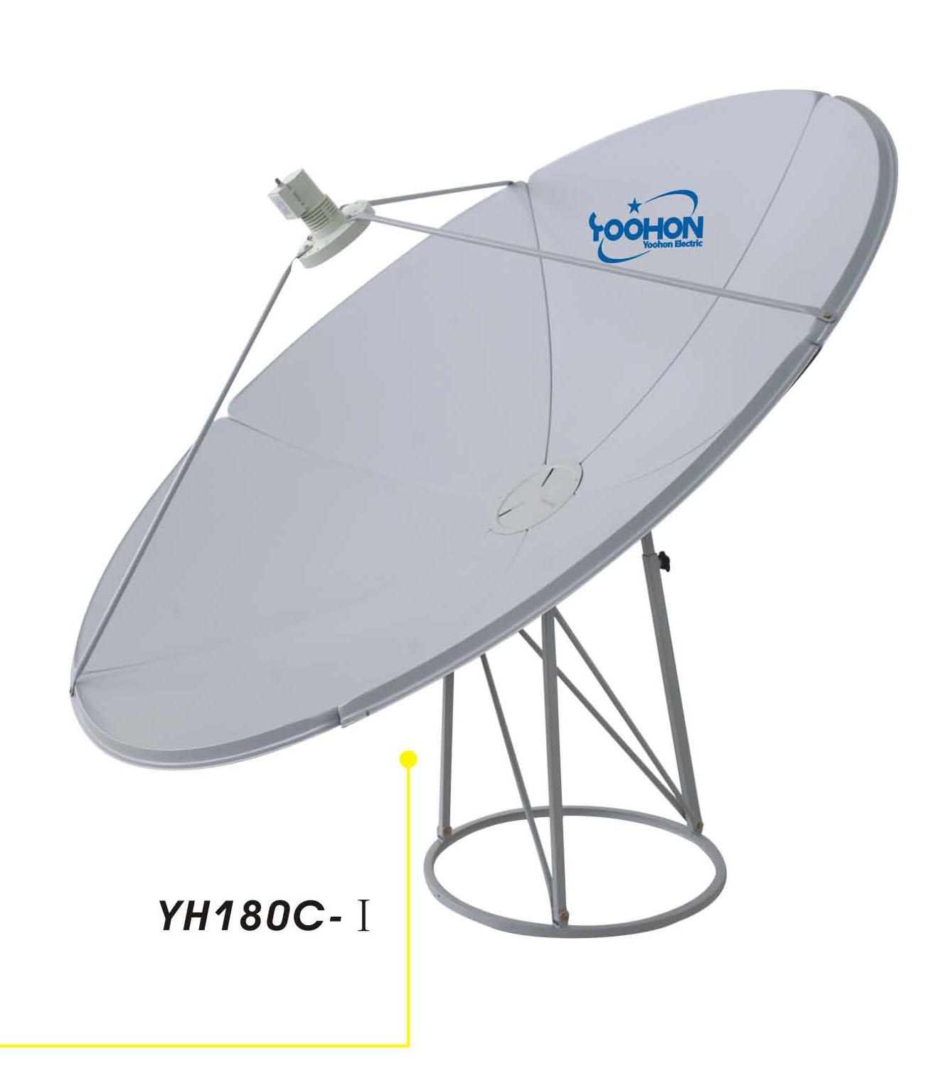 1.8m Prime Focus Satellite Dish Antenna (YH180C-I)