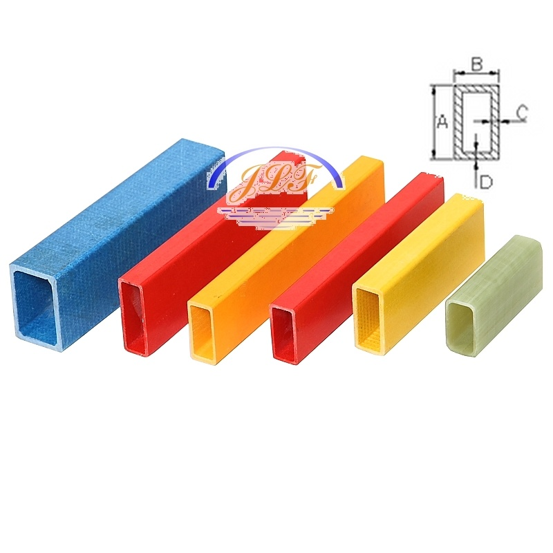 FRP Pultruded Rectangle Tube