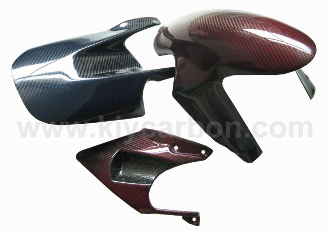 Carbon Fiber Motorcycle Color Parts