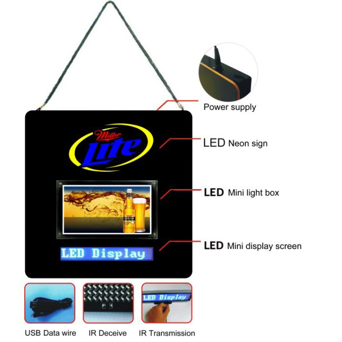 LED Sign -Mini Lightbox