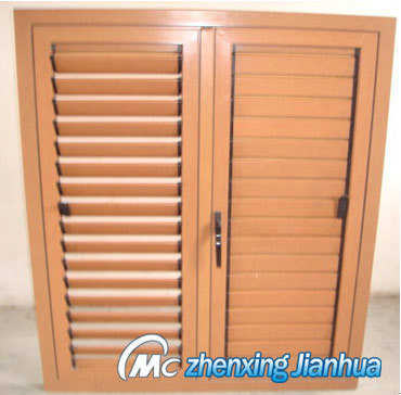 Aluminum Casement Shutter Window (Zxjh009)