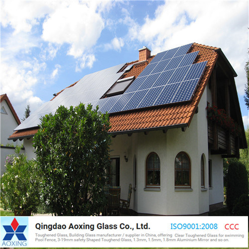 Super Clear Patterned Glass for Solar Cell Module/ Solar Water Heater