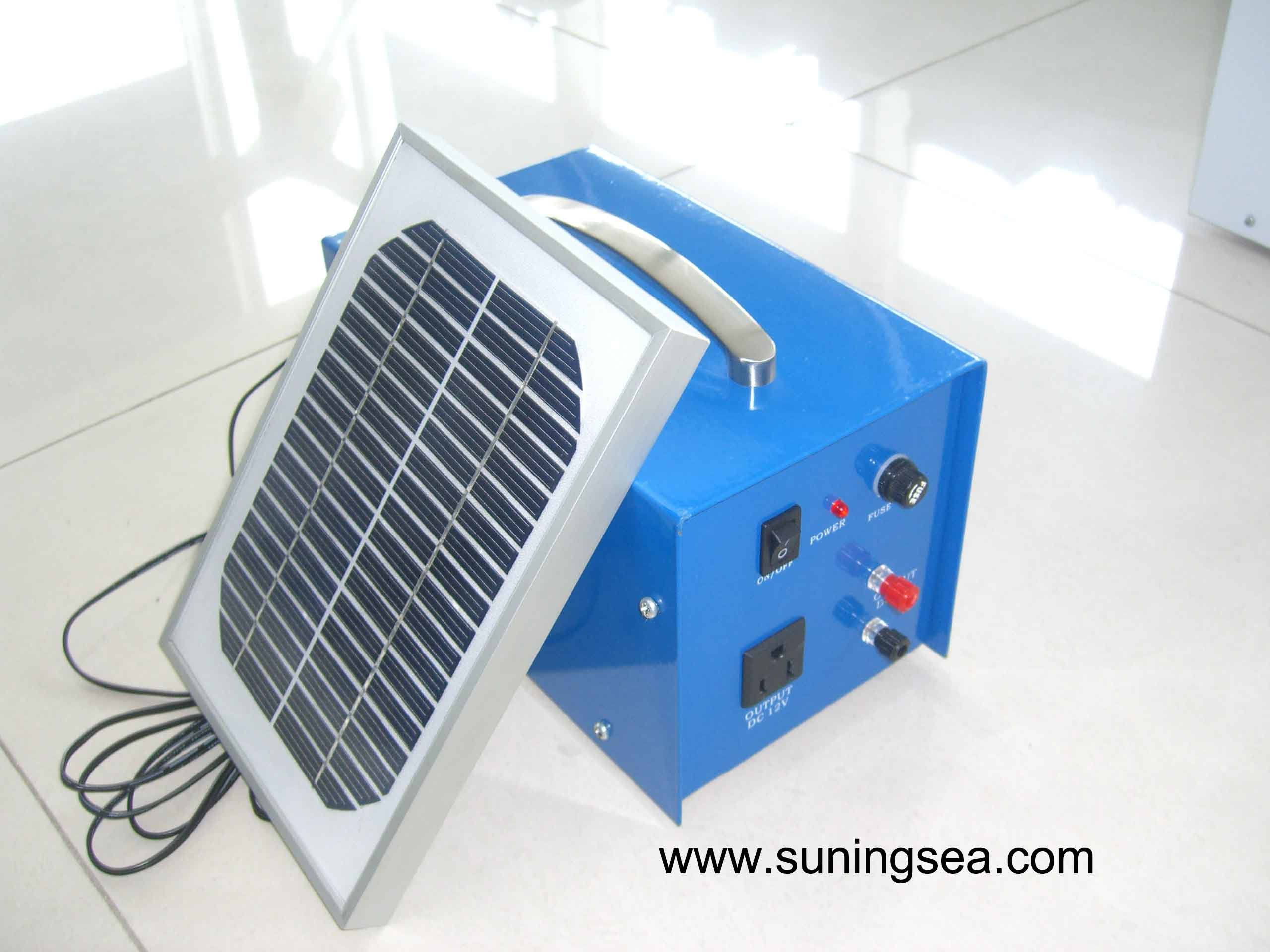 China Portable Solar Generator - China Solar Power System, Home Solar ...