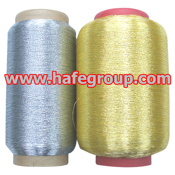 Pure Silver and Pure Gold Metallic Yarn (MS-Type)