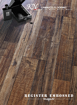 Customizable Household / Commercial 8.3mm E0 E1 HDF AC3/AC4 Art Parquet Composite Laminated Flooring