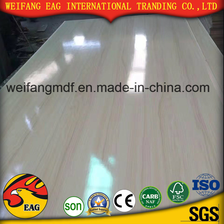 18mm Pine Core E1 Glue High Grade Good Quality Melamine Blockboard for Furniture