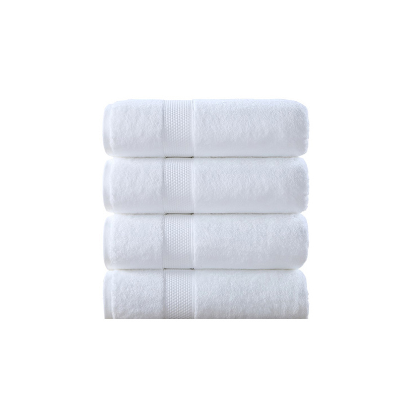 Cotton 100% Hotel Towel Guest Room Towel Manufacturer (TOW-002)