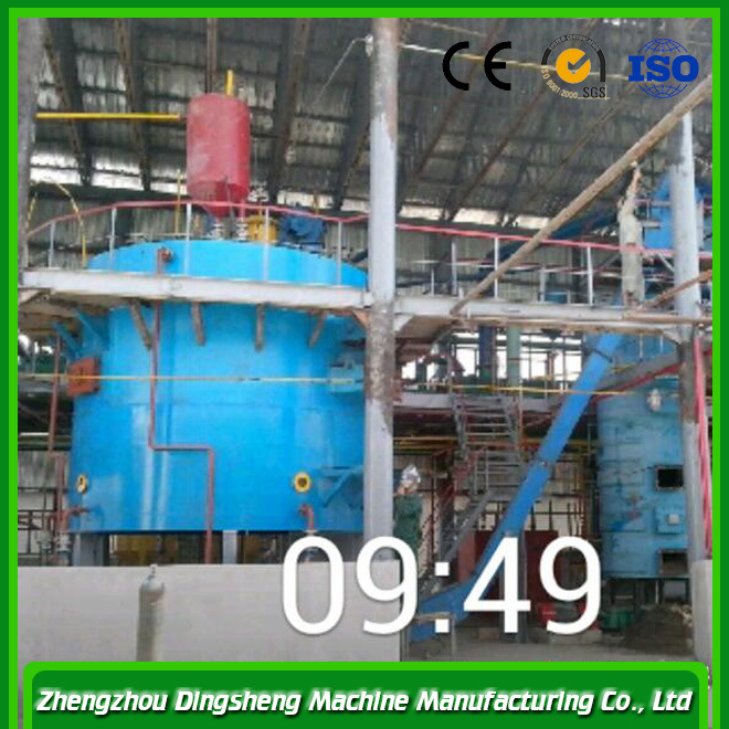 304ss Condenser Negative Pressure Evaporation Soybean Cake Solvent Extraction Plant
