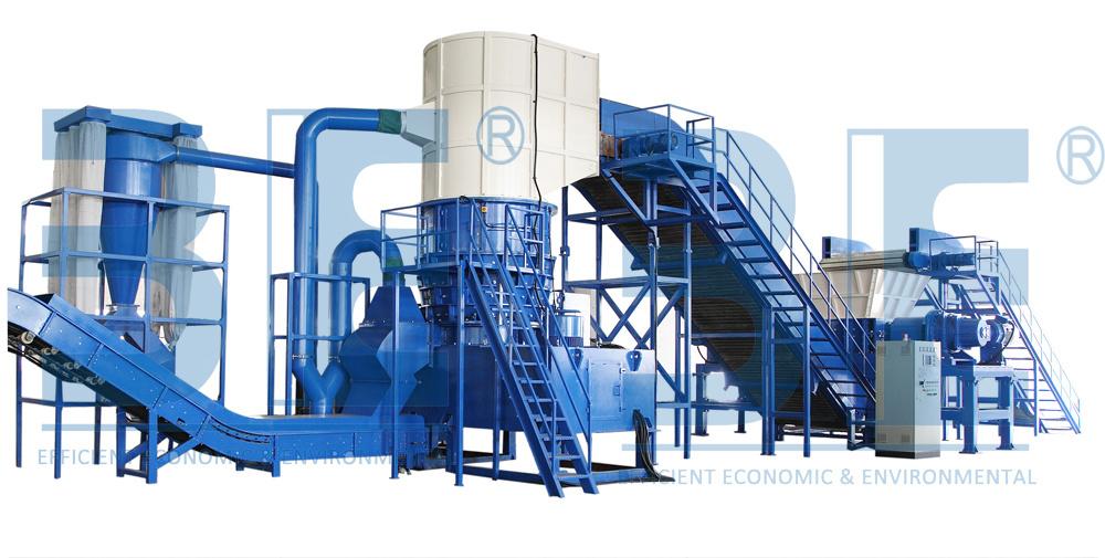 Metal Shredder/ Metal Recycling Machine/ Metal Recycling Line