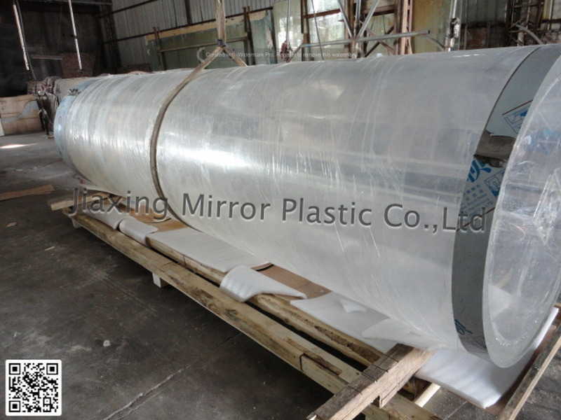 Acrylic Cylindrical Aquarium Mr009