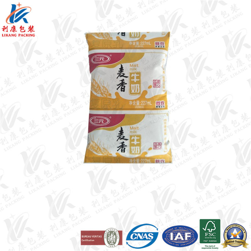 Pillow Pack for Fresh Milk