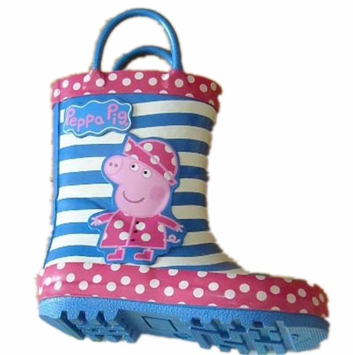 New Cute Colorful Child Rain Boots