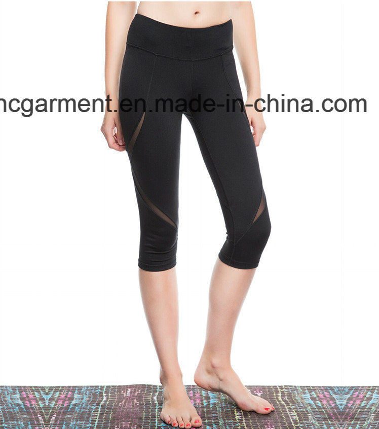 Workout Clothes for Woman, Gym Leggings, Capri Pants