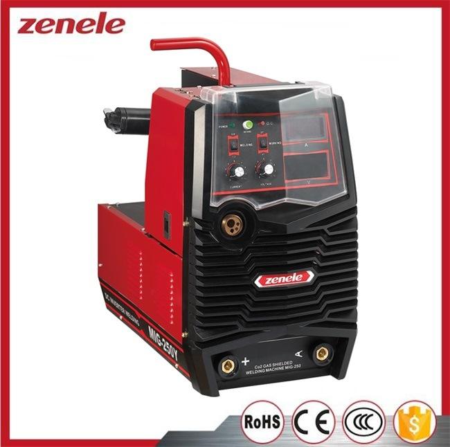 Inverter IGBT MIG Mag Welder Machine MIG-250y