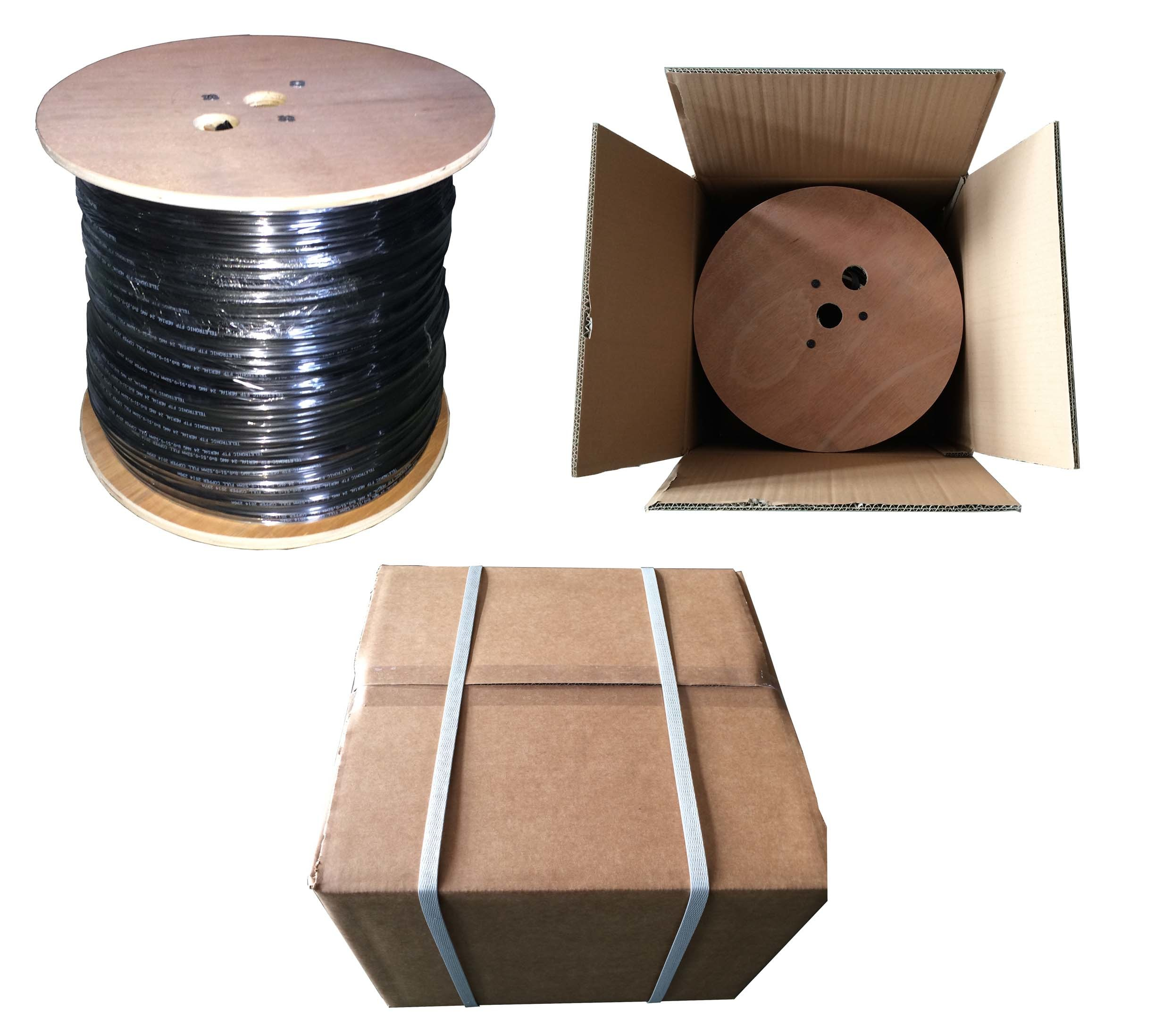 LAN Cable FTP CAT6 Cable with ETL/CE/RoHS/ISO 9001