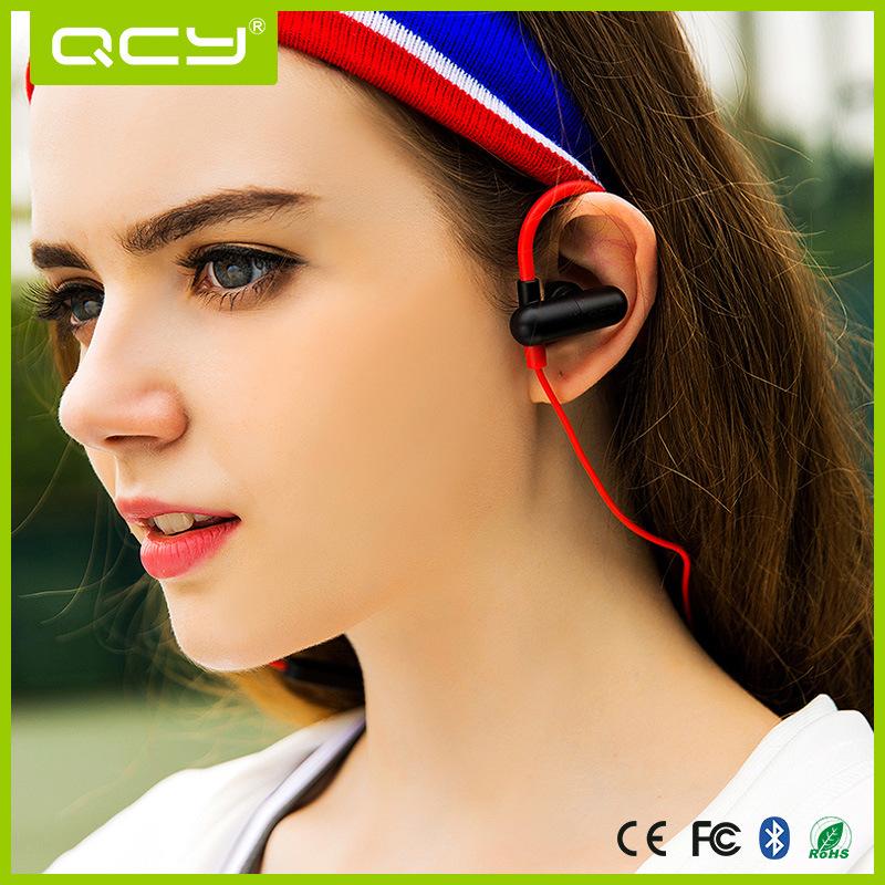 Wireless Sweatproof Waterproof Bluetooth Sport Headphone with Ear Hook
