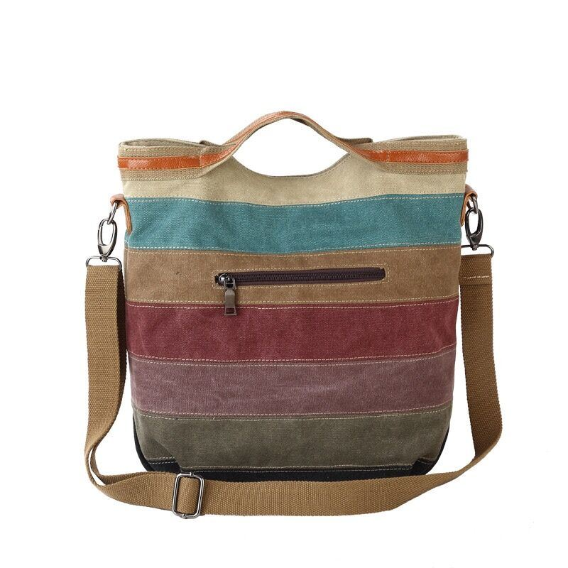 Hot Sale Factory Big Volumn Crossbody Canvas Bag
