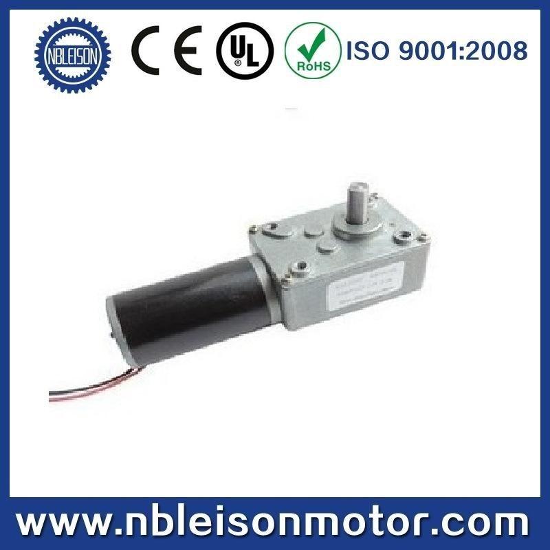 12V 24V DC Worm Gear Motor (L58SW31ZY)