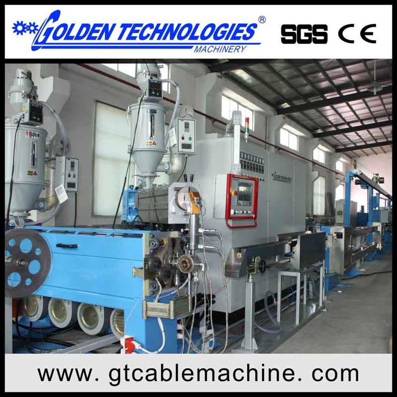 China Wire Cable Extrusion Machine