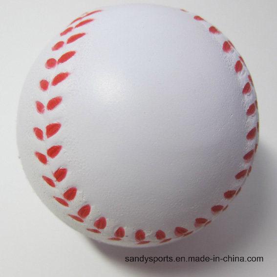 Popular Promotion PU Foam Stress Baseball