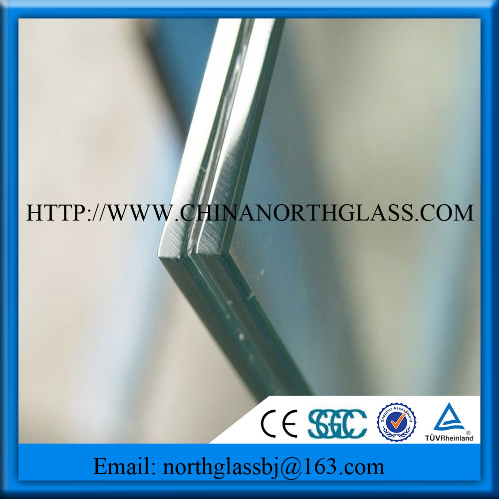 6.38-16.76mm Clear Laminated Safety Glass
