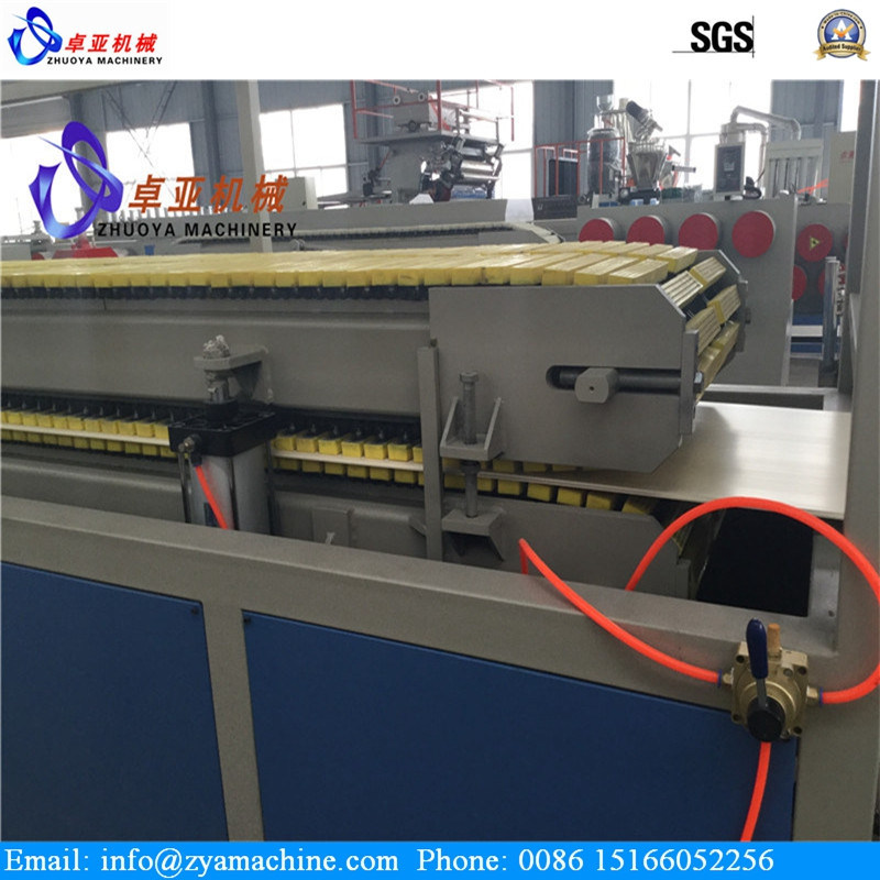 WPC Lightweight Hollow Wall Decoration Panel Machine/Plastic Extruder