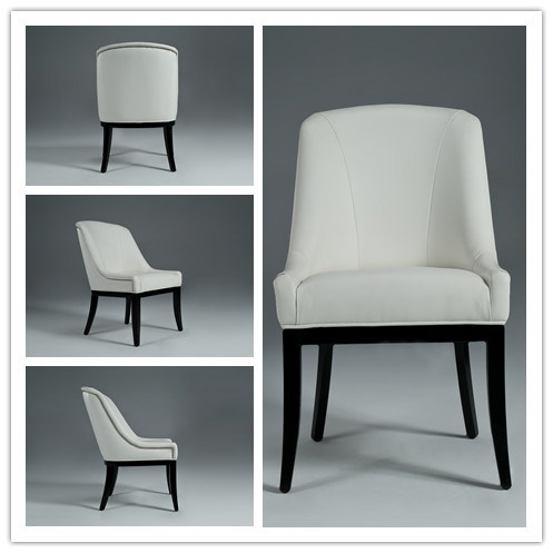 Wooden Dining Chair with Bonded Leather (GK6005)