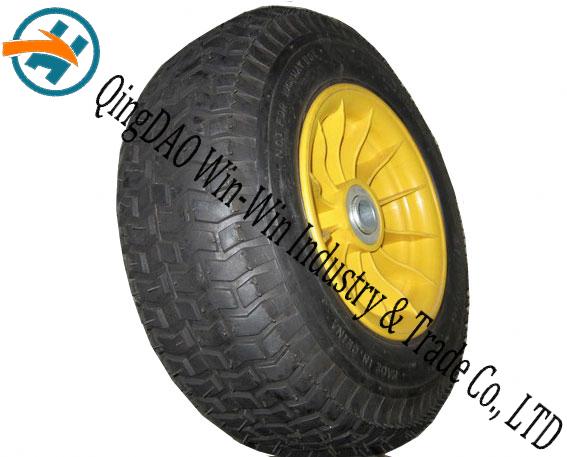 16*6.50-8 Non-Pneumatic Polyurethane Foam Wheel with Spoke Rim