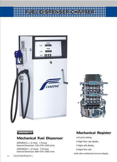 Mechanical Fuel Dispenser