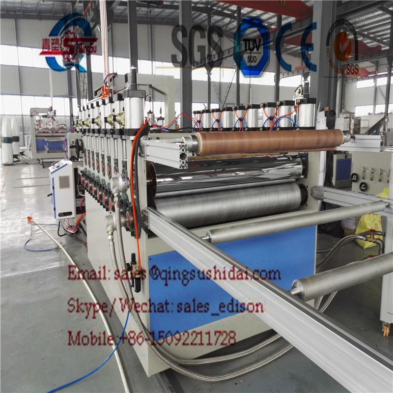 PVC Decoration Board Produciton Line