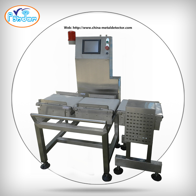 High Speed Automatic Checkweigher Style Conveyor Check Weigher