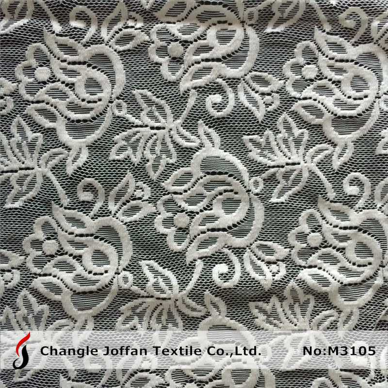 knitted Raschel Lace for Sale (M3105)