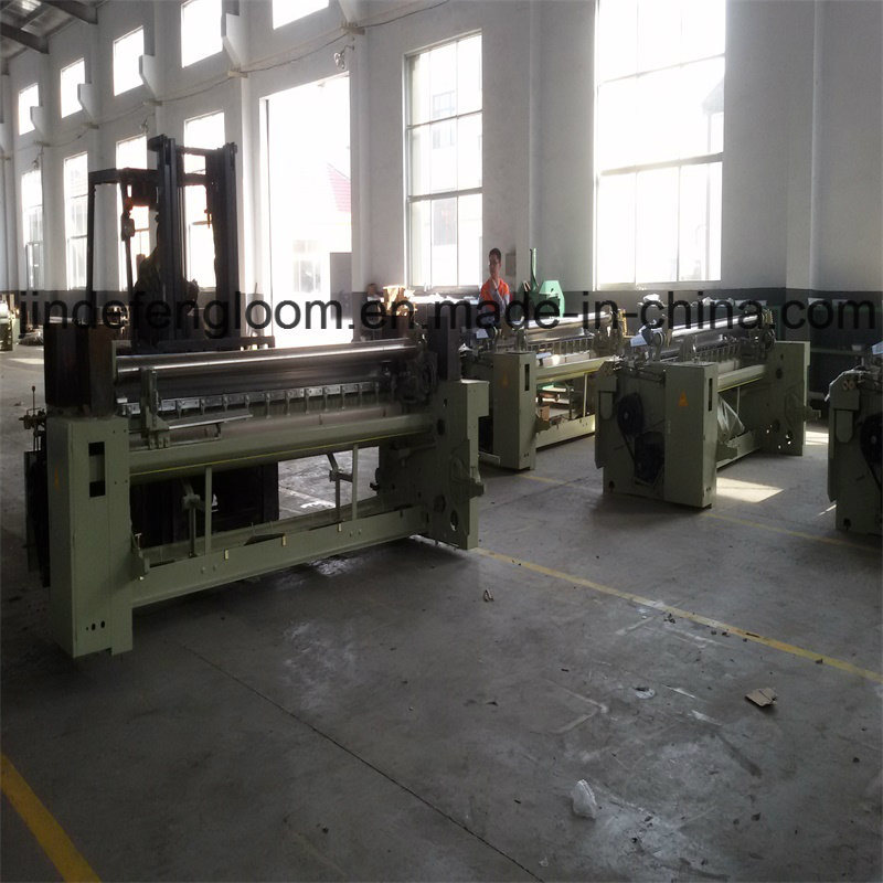 190cm Dobby Shedding Waterjet Weaving Loom Machine with Double Nozzle