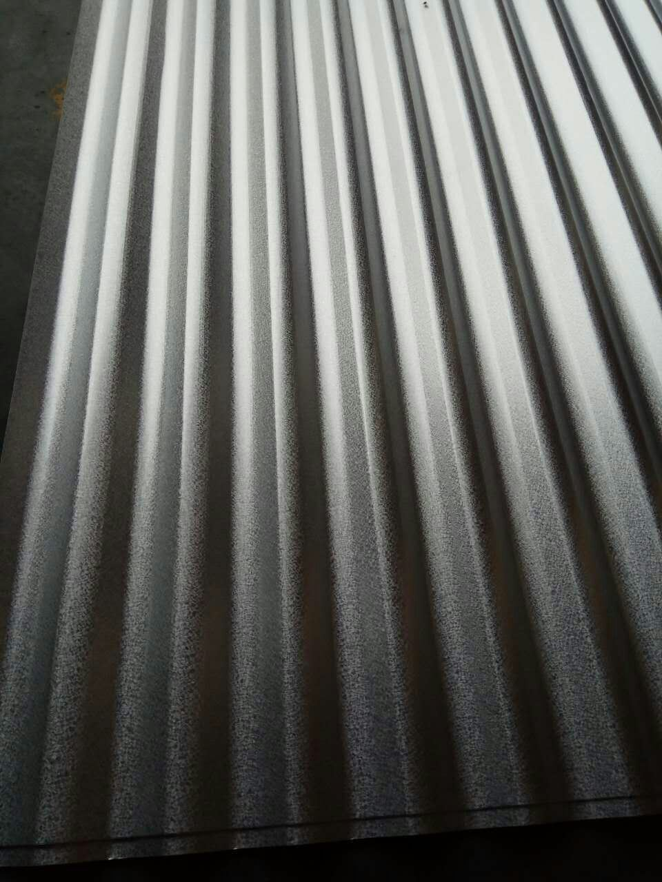 Chromated and Anti Finger G550 Galvalume Corrugated Roofing Steel Sheet