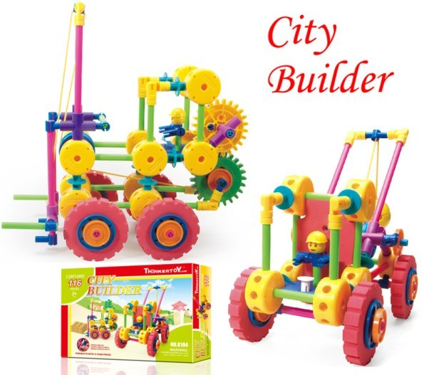 Building Toys For Toddlers : China educational plastic building blocks toys for kids