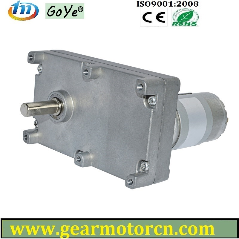 119m Base High Torque Low Speed Banking and Vending Sys. 100-150V DC Flat Gear Motor