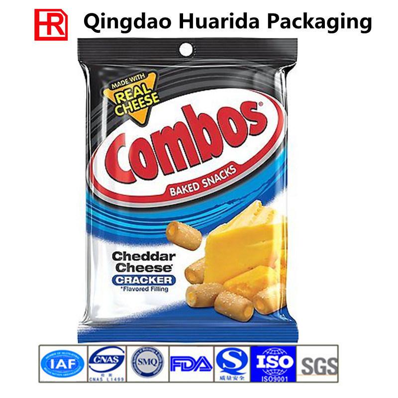 Custom Design Plastic Back Seal Potato Chips Packaging Bag/Film