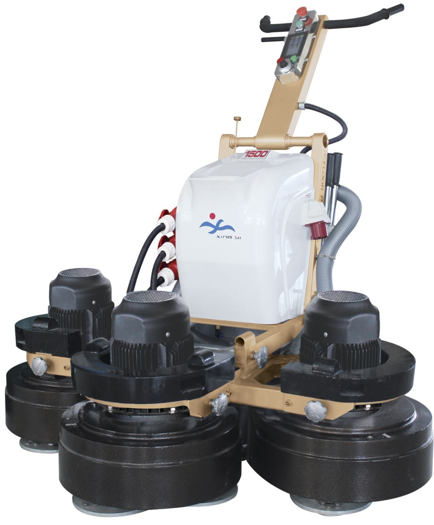 concrete floor machine