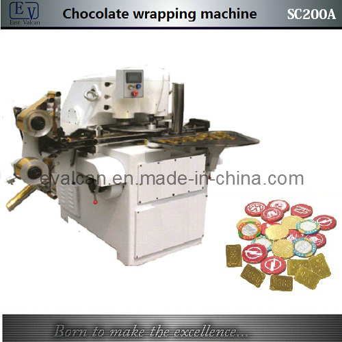 Golden Coin Chocolate Wrapping Machine (SC200A)