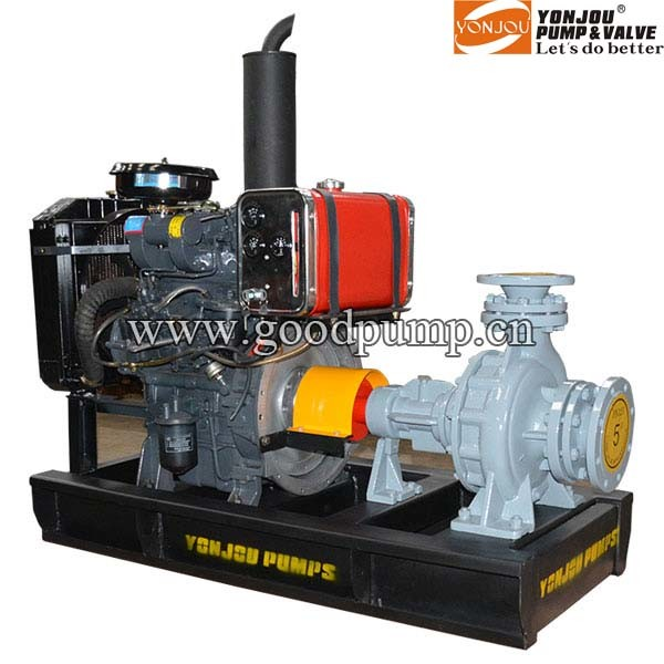 Thermal Oil Centrifugal Pump Diesel Engine