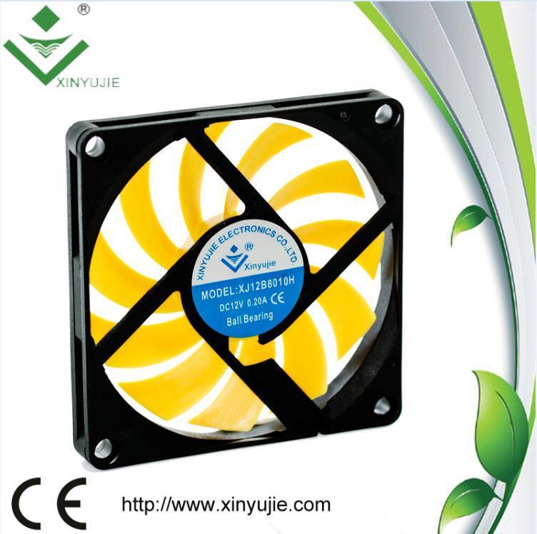 Xinyujie Fan 80mm High Rpm 12V Cooling Fan 80X80X10mm
