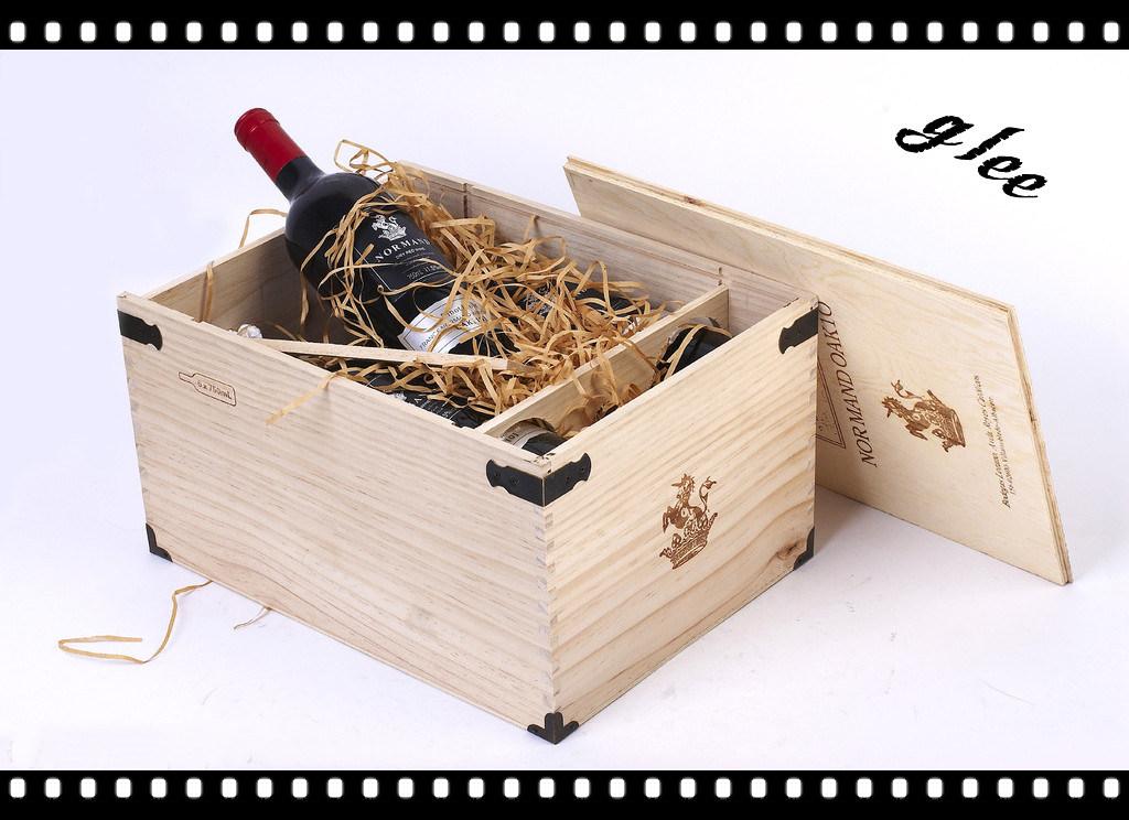 Вино в деревянном ящике подарок 57