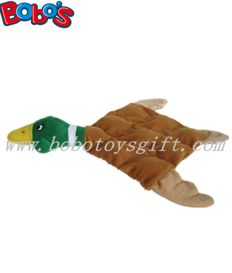 30cm Squeaker Pet Toy Plush Tan Duck with Less Stuffing Bosw1059/30cm