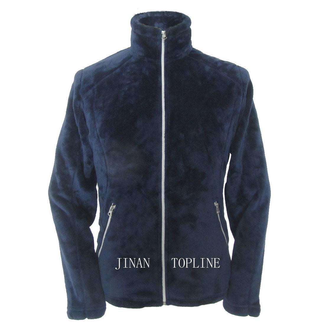 Ladies Fashion Fake/Faux Fur Thermal Casual Jacket