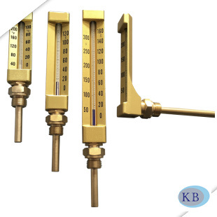 V Line Shape Industrial Thermometer