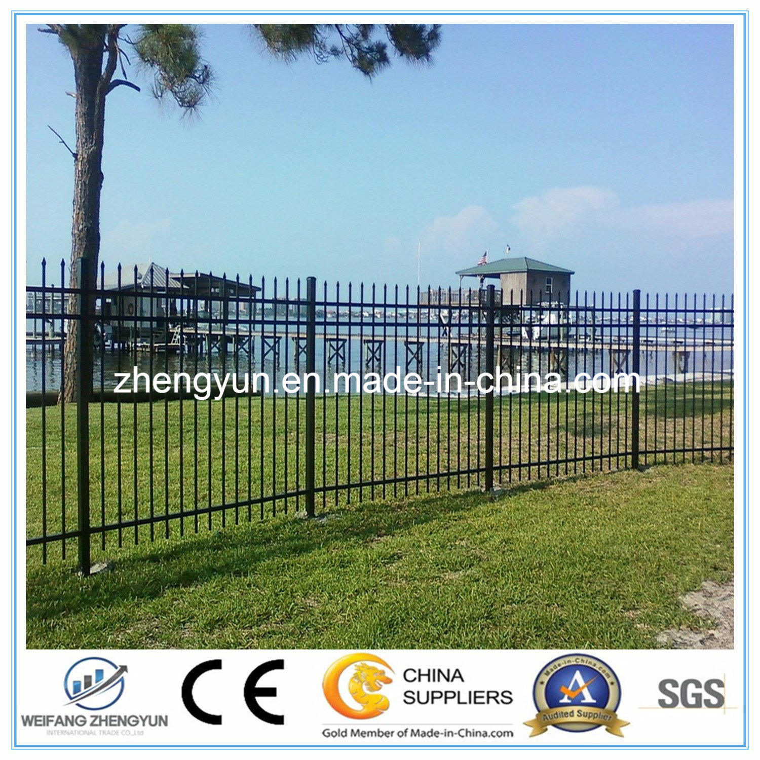 Steel Wire Mesh Fence / Swimming Pool Fence