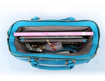 China Manufacturer Bright Color Fashion Ladies PU Designer Handbags (BDM002)