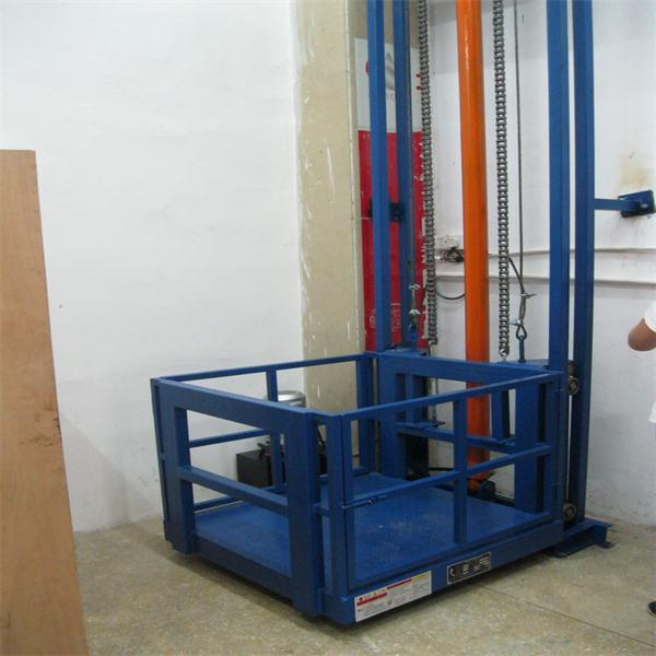 Hydraulic Vertical Lift : China warehouse hydraulic vertical freight platform lift