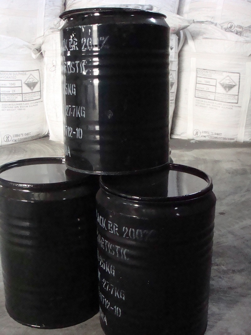 Sulphur Dyes Black Br Textile Dyestuff