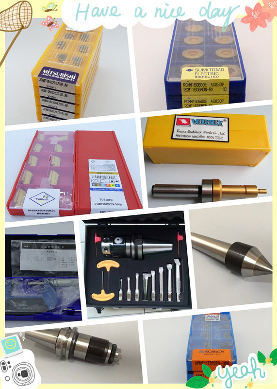 Cutoutil Carbide Inserts Edge Finder Toolholder Cutting Tools